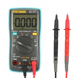 ZT101 Mini Digital Multimeter 6000 Counts AC/DC Ammeter Voltmeter